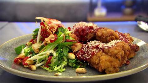 chef john fried chicken john torode s korean fried chicken on celebrity masterchef