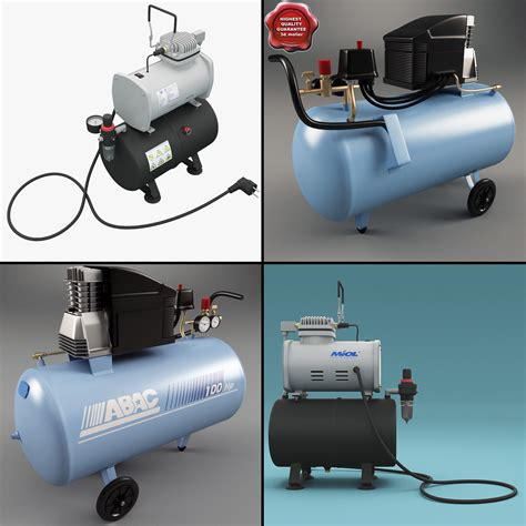 3d air compressors model