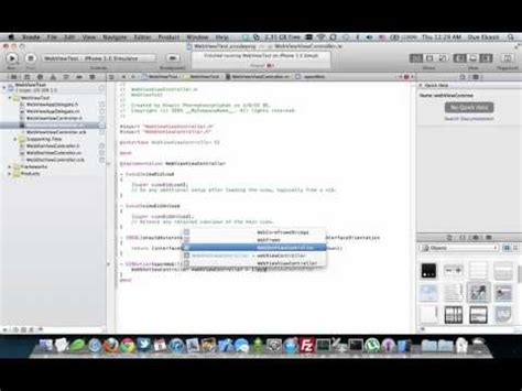 xcode uiwebview tutorial ios tutorial uiwebview and uinavigationcontroller on