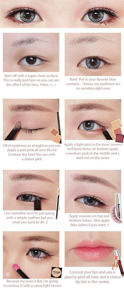 Tutorial Eyeliner Ulzzang Boy | best 25 korean makeup tutorials ideas on pinterest