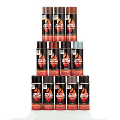 high heat spray paint brown stove bright metallic rich brown stove paint 43225