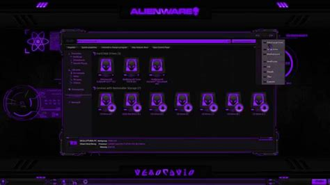 eclipse theme pack alienware 174 eclipse purple premium theme for windows se7en
