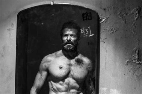 hugh jackman wolverine body logan two tv spots and imax poster revealed for jackman s