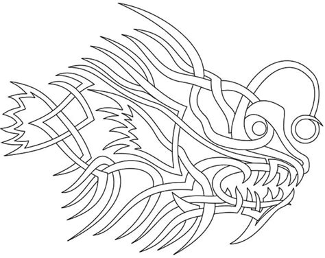 free tribal zodiac sagittarius coloring pages