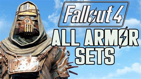 fallout 3 best armour fallout 4 all armor sets