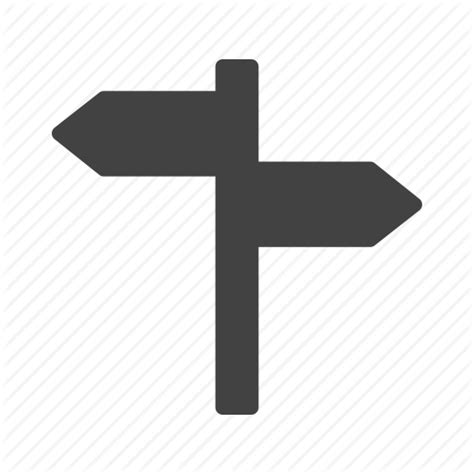 board direction post road sign traffic travel icon