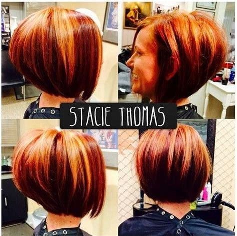 trendy highlights for 2015 hair color trends 2017 2018 highlights stacked bob