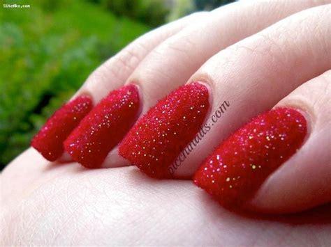 imagenes de uñas pintadas en color rojo مدل لاک ناخن
