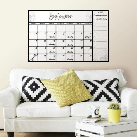 calendar wall sticker erase calendar wall decal peel stick wall sticker