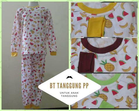 Baju Tidur Anak Bahan Katun produsen baju tidur katun tanggung pp anak murah bandung