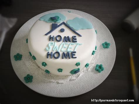 gourmand et croquant cake design home sweet home