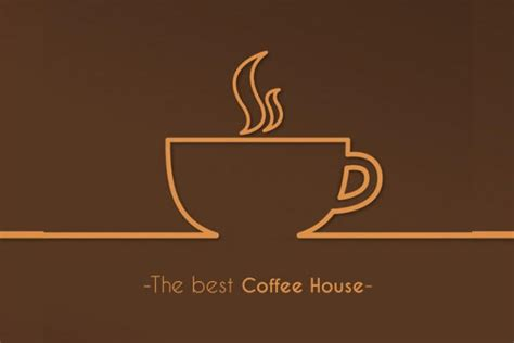 coffee house logo design 9 coffee logo designs editable psd ai vector eps
