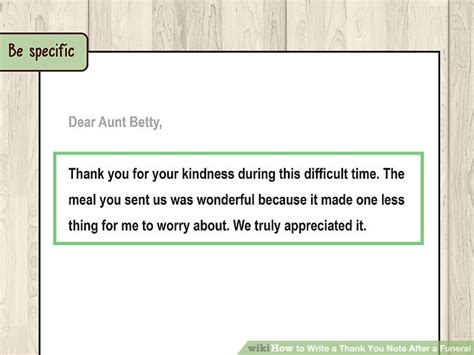 thanking letter after funeral how to write a thank you note after a funeral 11 steps