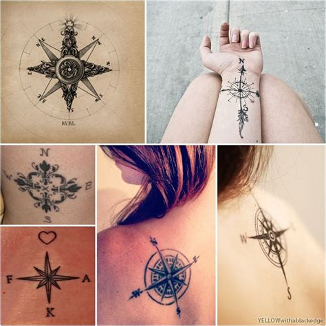 compass tattoo types 39 awesome compass tattoo design ideas