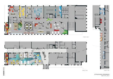 Kindergarten Floor Plan Layout by Vittra S 246 Dermalm Rosan Bosch Archdaily