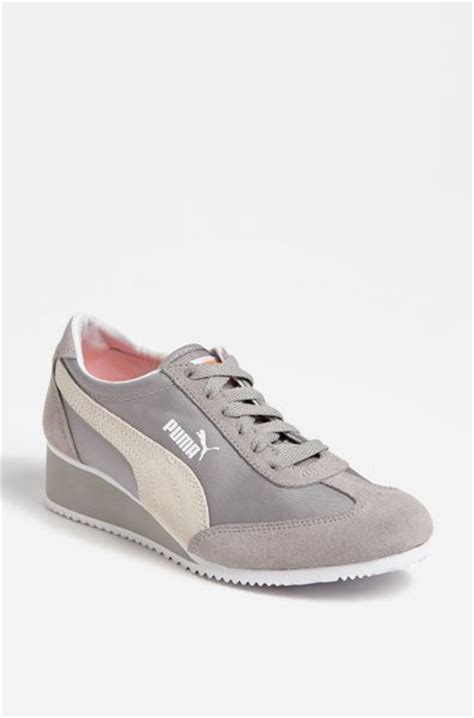 caroline wedge sneaker caroline wedge sneaker in gray opal grey lyst