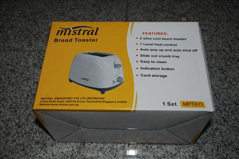 Toaster Malaysia brand new mistral bread toaster end 4 13 2016 7 06 00 am myt
