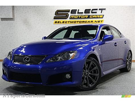 lexus is blue lexus is f ultrasonic blue mica