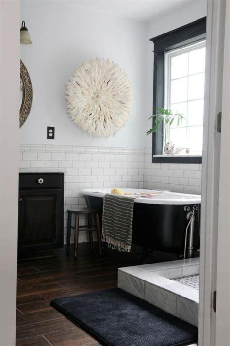 schwarz weiß badezimmerfliesen ideen badezimmer design schwarz