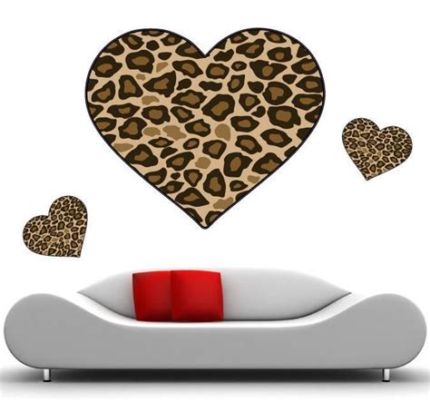 cheetah print wall stickers 25 best images about cheetah print wall decals on