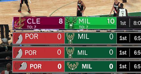 espn nba scoreboard dna of basketball dnaobb nba 2k18 espn scoreboard beta
