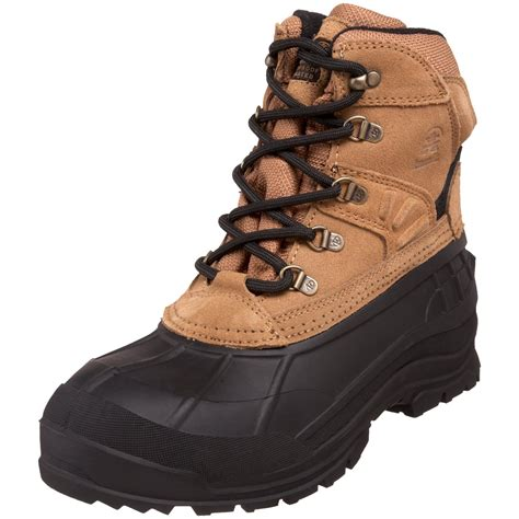 kamik fargo cold weather boot in brown for lyst