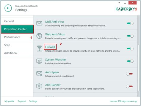 reset kaspersky to default settings how to use firewall in kaspersky internet security 2015