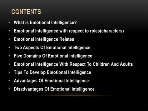 What Is An Mba In Business Intelligence And Analytics by Emotional Intelligence For Mba S Disaster Management