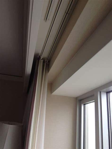 ceiling track curtains pin by sabrina johnson on for the home