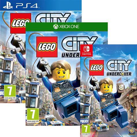 Promo Switch Lego City Undercover bon plan lego city undercover pas cher sur ps4 xbox one et switch