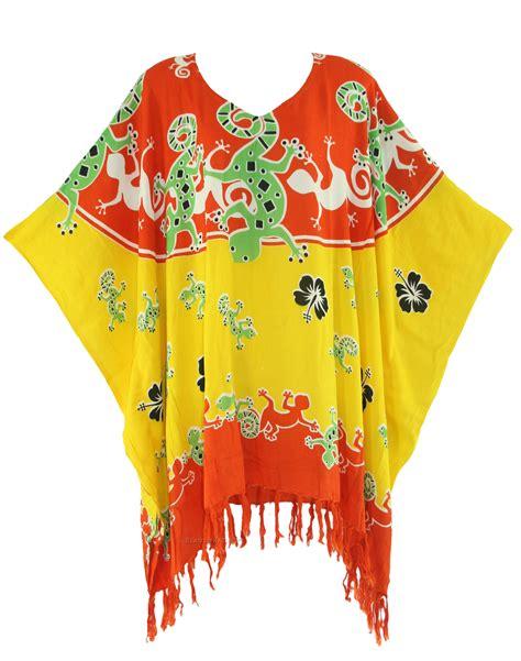 Blouse Kerja Batik Orange orange batik caftan kaftan tunic top blouse plus size 1x 2x 3x 4x 22 24 ebay