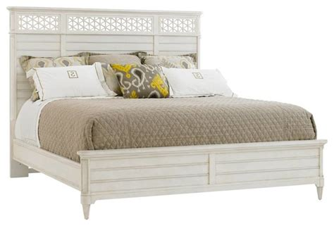 beach style beds cypress grove wood panel bed beach style panel beds