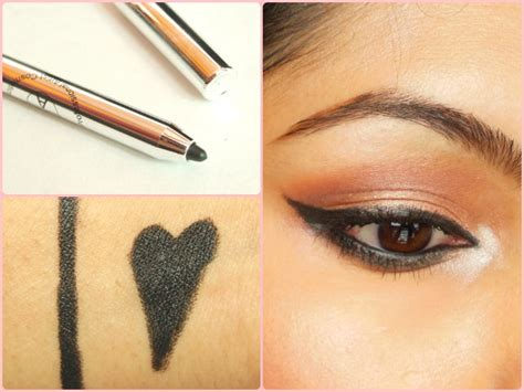 pac cosmetics duo eyeliner pencil review swatch