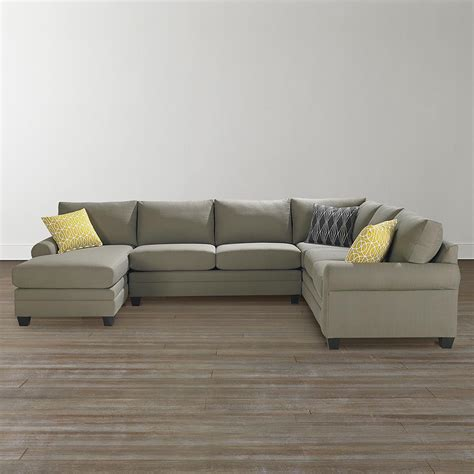 u shaped sofa sectional cu 2 u shaped sectional furniture bassett home furnishings