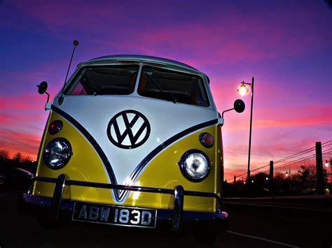 Volkswagen Bus Modification Wallpaper Wallpaper