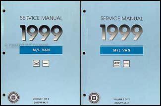 car repair manual download 1999 chevrolet astro free book repair manuals 1999 chevy astro and gmc safari van shop manual set 99 repair service books oem ebay