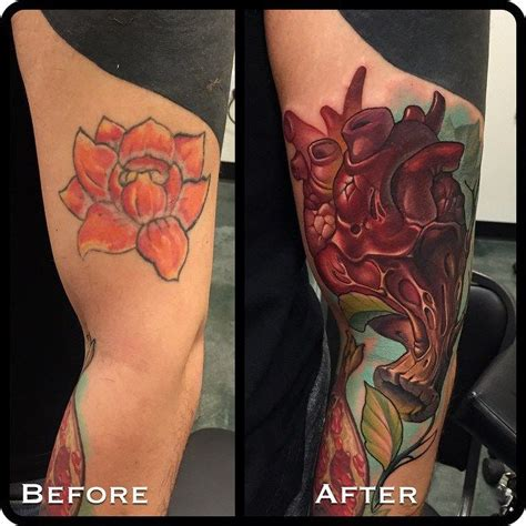 cover up tattoo designs on arm new school cover up arm by timmy b best