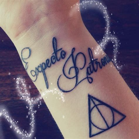 expecto patronum tattoo my expecto patronum