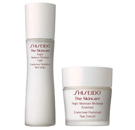 Shiseido The Skincare Moisture Recharge best skin care creams and products