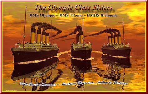 boat r mistakes rms olympic and hmhs britannic old gals uss liners