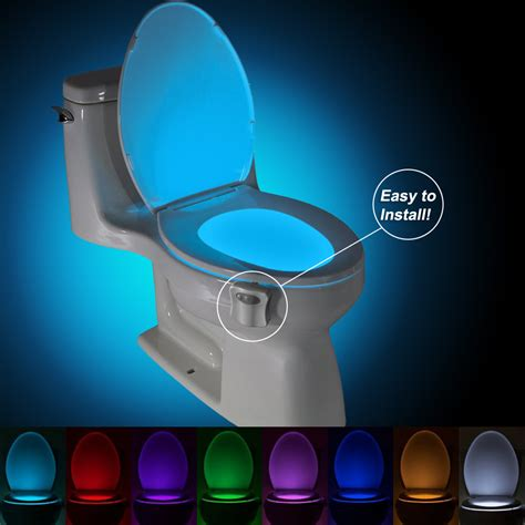 toilet light dealsmachine brelong aaa infrared induction led toilet