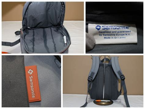 Tas Samsonite Travel Bag Authentic Original Seken Branded samsonite original tas second seken original 081170 1414 9