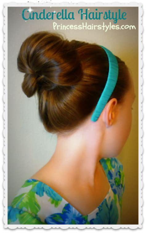 Cinderella Hairstyle by Cinderella Hairstyle Princess Hairstyles Trend