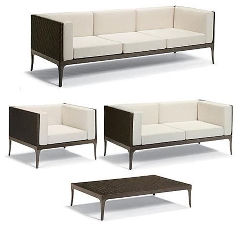 Frontgate Patio Furniture by Ibiza 4 Pc Outdoor Sofa Set Frontgate Patio Furniture
