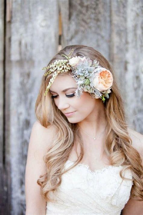 Hochzeitsfrisur Haarband by 55 Brautfrisuren Stilvolle Haarstyling Ideen F 252 R Lange Haare