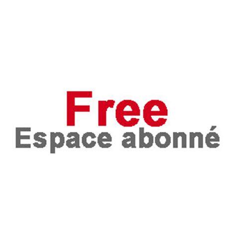 free espace abonn 233 freebox telephone contact resiliation