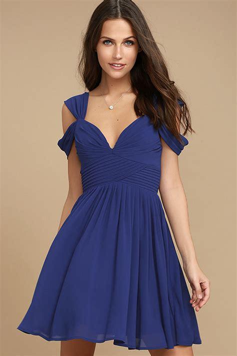 Dress Spot Blue lovely royal blue dress skater dress formal dress 59 00