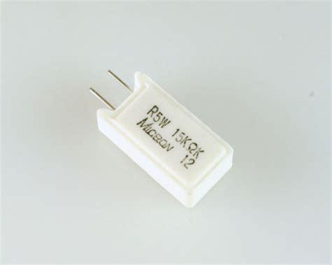micron power resistors sqz5w15 micron resistor 15 kohm 5w 10 sand 2021009436