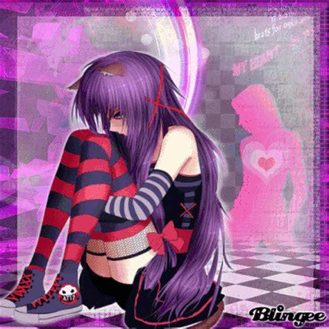 imagenes animes de emos emo anime quot heartbeat quot picture 128199099 blingee com