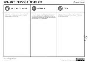 persona templates persona template pichler